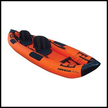 Airhead Montana inflatable kayak ocean surfing