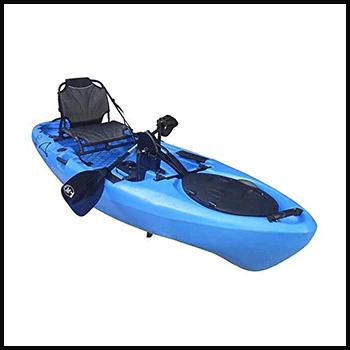 BKC-PK11-Angler-10.5-Foot-Sit-On-Top-Solo-Fishing-Kayak