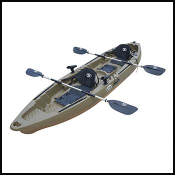 BKC TK122K Best Value Fishing Kayak