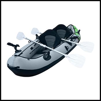 2 person inflatable fishing kayak
